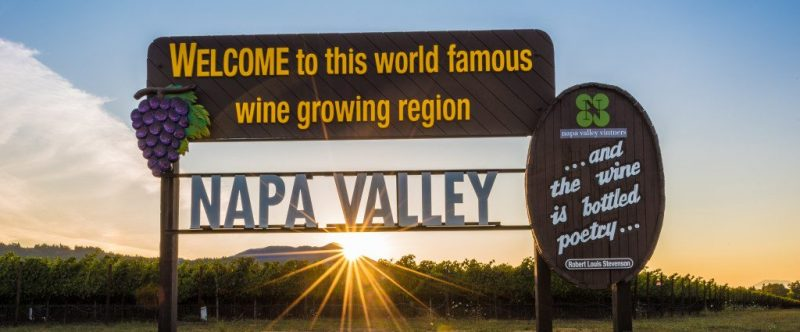 Napa Valley and Sonoma Valley Itineraries